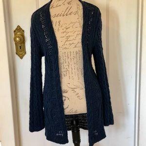 Garnet Hill Chunky Linen Long Sweater XL